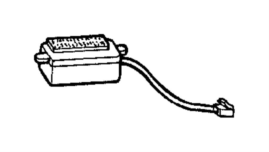 Jeep Grand Cherokee Module, resistor. Blower motor, power