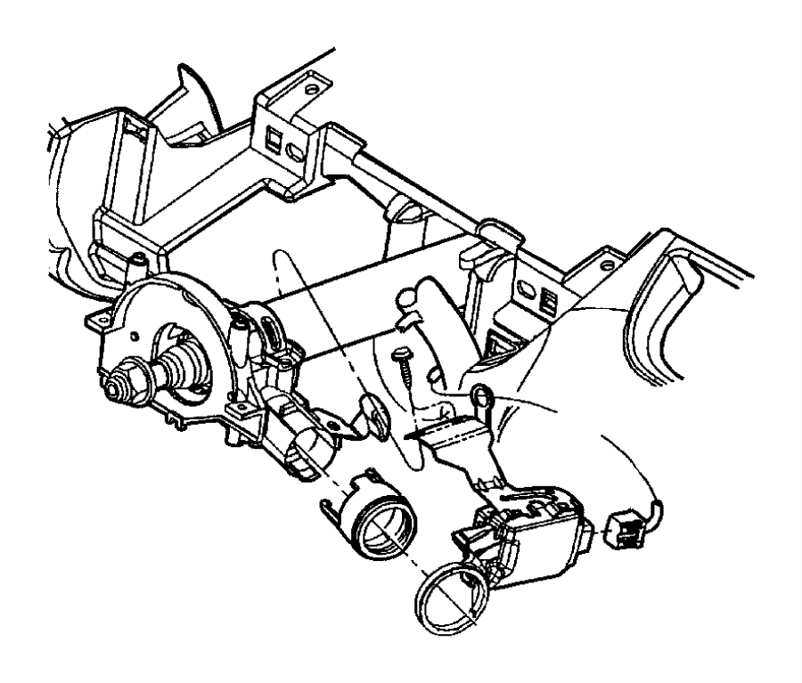 Chrysler Pt Cruiser Module. Immobilizer. [sentry key theft