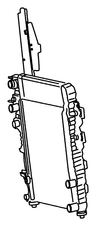 2003 Jeep Liberty Condenser. Air conditioning. [venezuela
