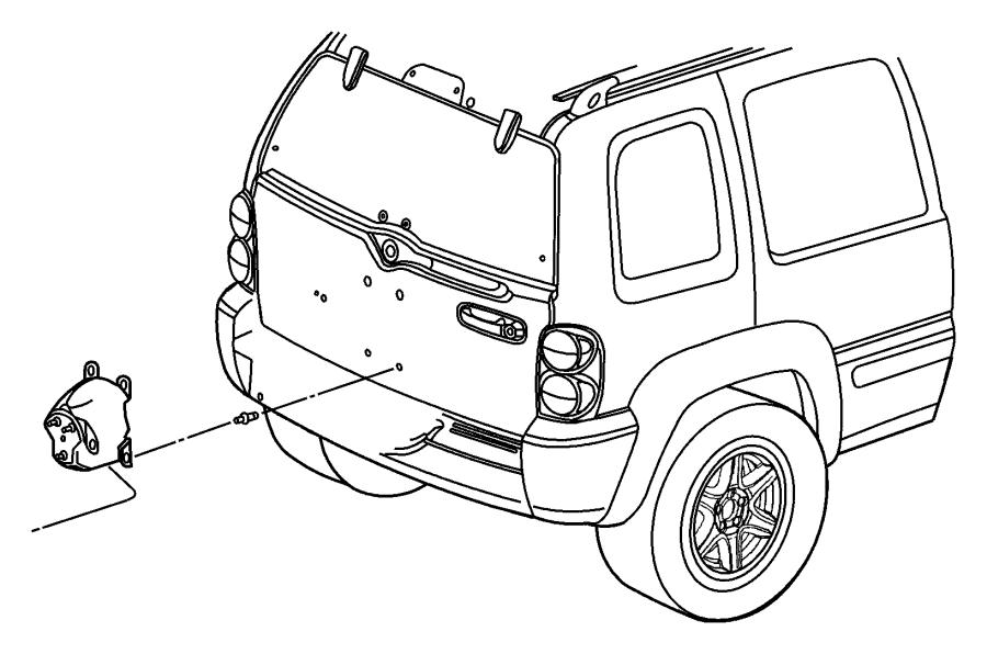 Jeep Liberty Bracket. Spare tire. Tbr, outsidevenezuela