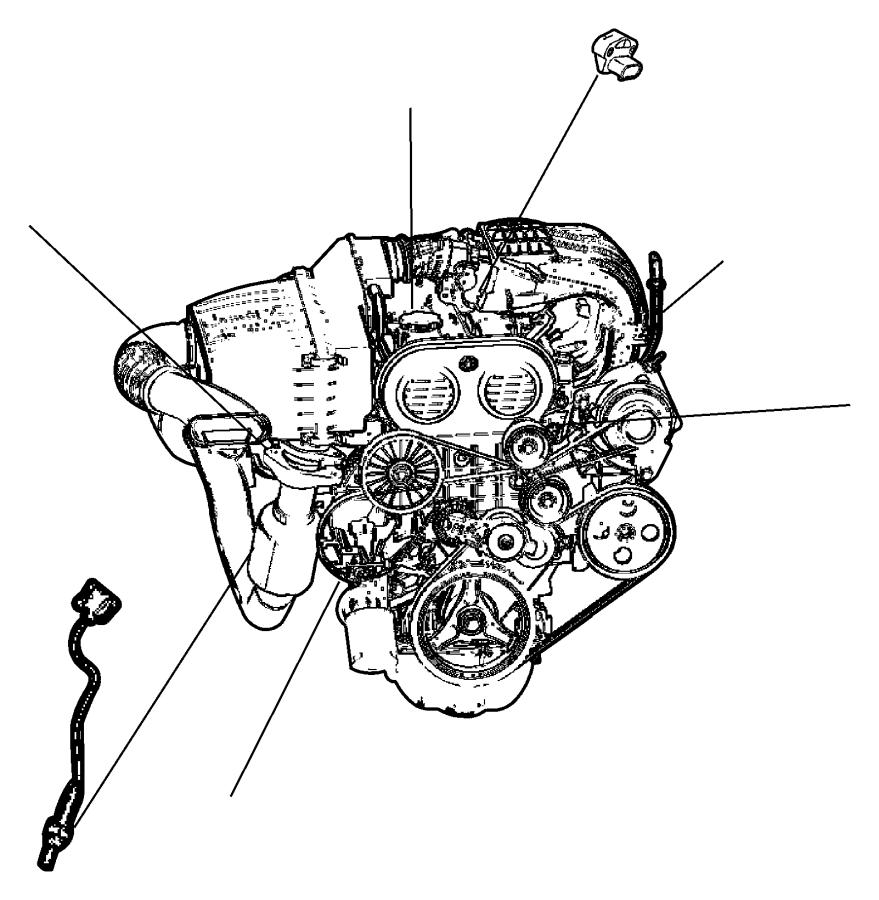 Chrysler Town & Country Sensor. Air temperature