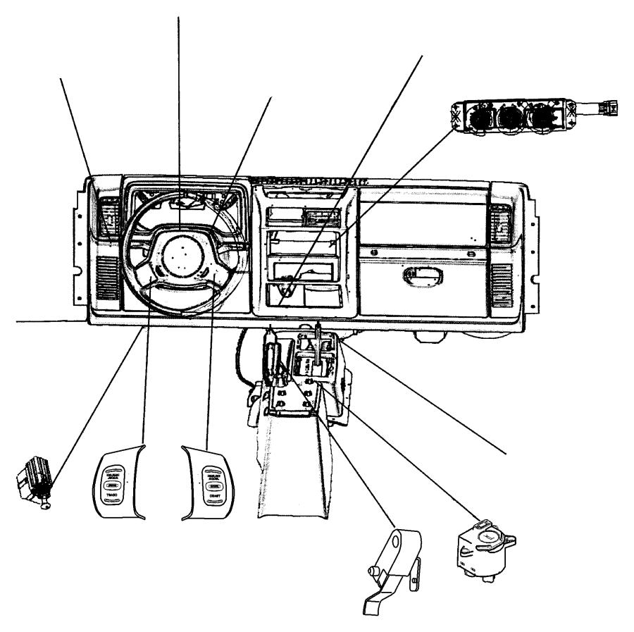 1997 Jeep Wrangler Controls,Hydraulic Clutch.