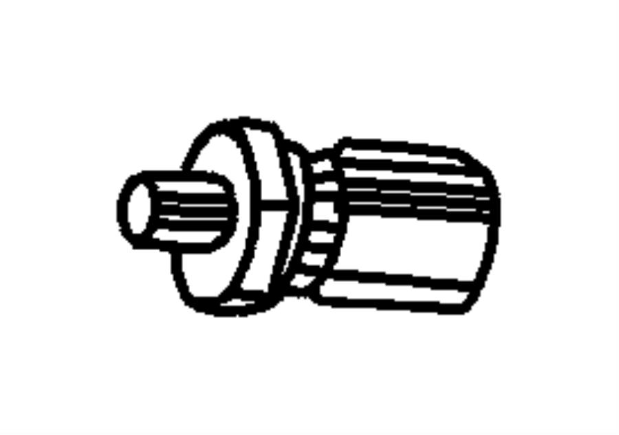 Dodge Sending Unit Oil Pressure Torque Converter