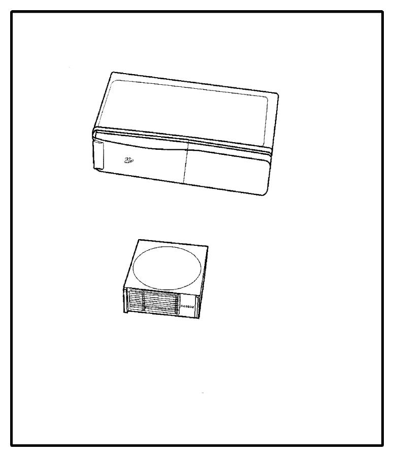 Dodge Ram 1500 Changer, player kit. Cd 6 disc, cd changer