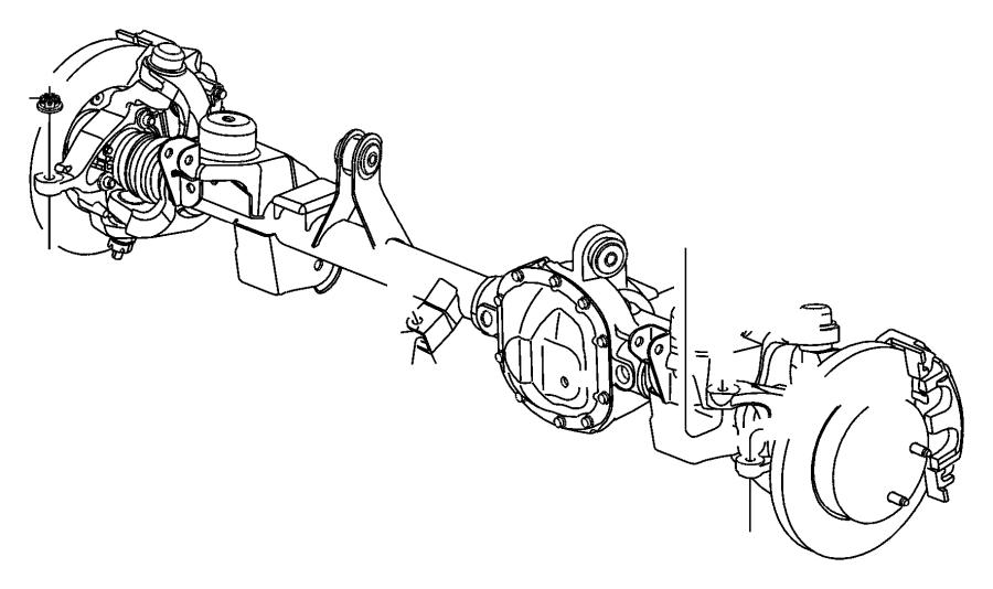 1999 Jeep Grand Cherokee Socket. Tie rod. Drag link pitman