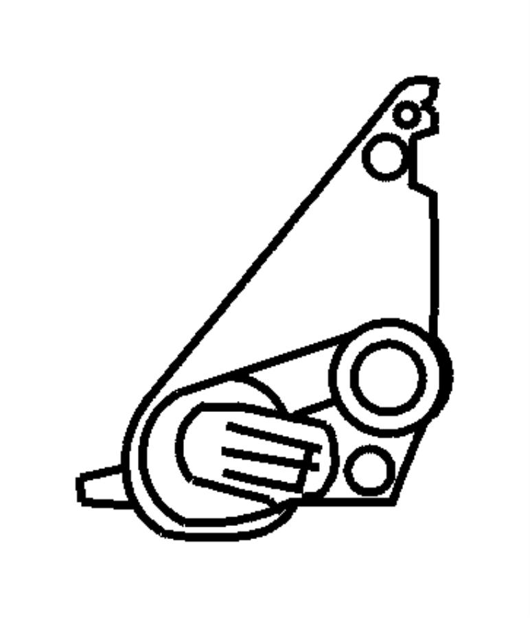 Dodge Journey Sensor. Transmission range. [super track pak