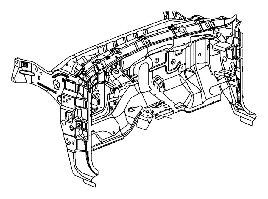 2004 Dodge Grille. Defroster. Trim: (*o0.)color: (-l5