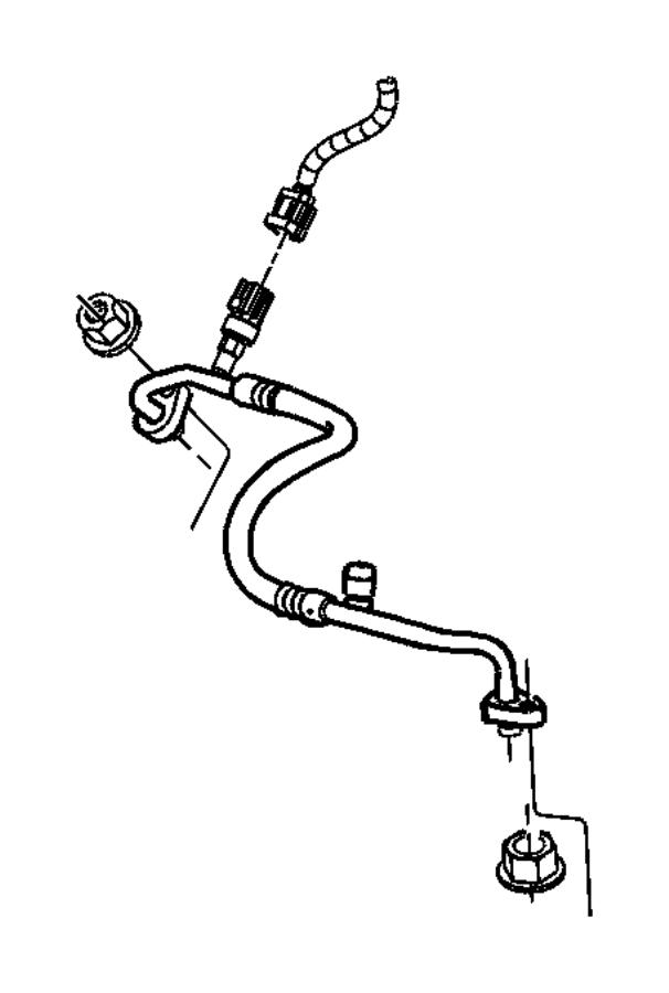 2003 Dodge Transducer, transducer kit. A/c pressure
