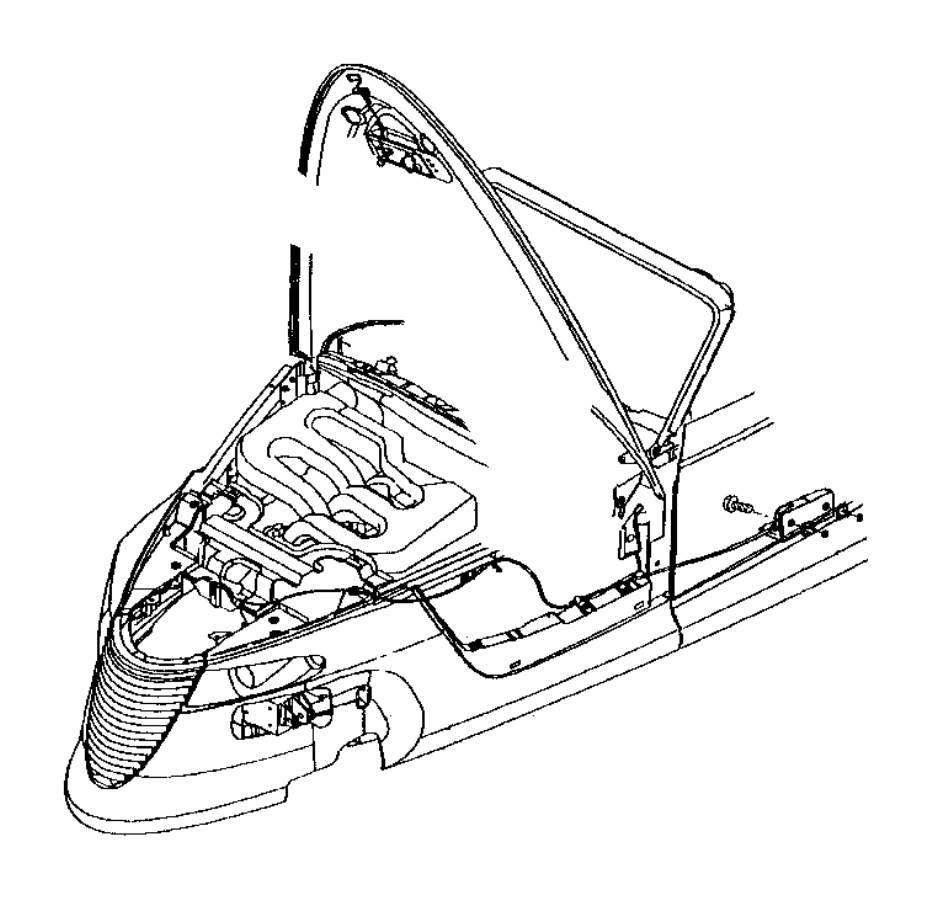Dodge Challenger Clip. Brake booster push rod, brake pedal