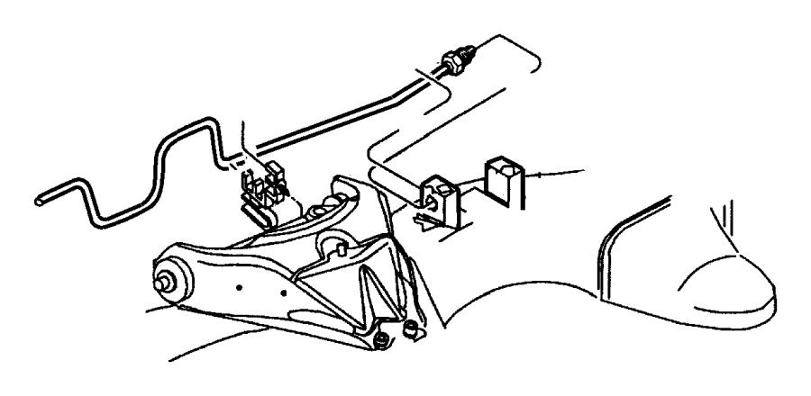 2000 Dodge Dakota Tube. Brake. Rear. Hosesfrontan