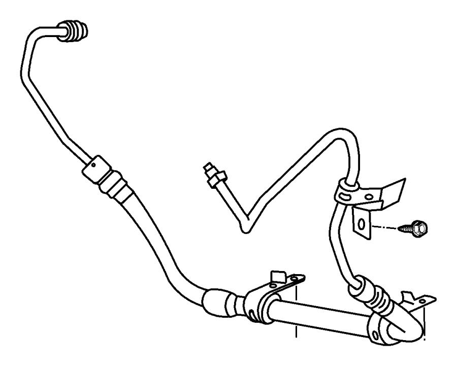 Chrysler Pt Cruiser Cooler. Power steering. Note: for