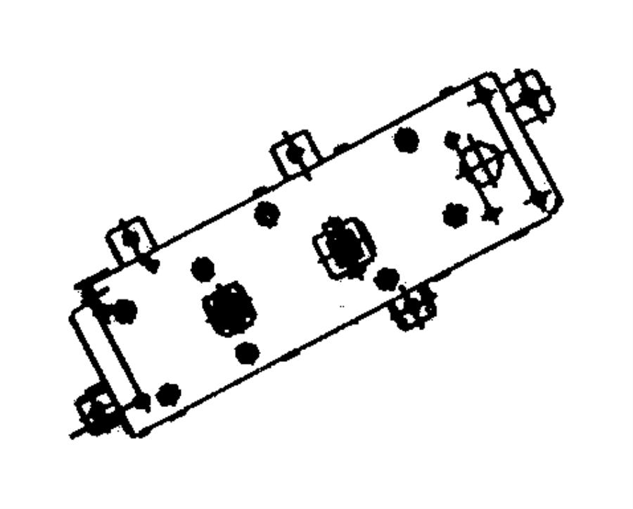 Jeep Grand Cherokee Switch. Door module. Driver, driver