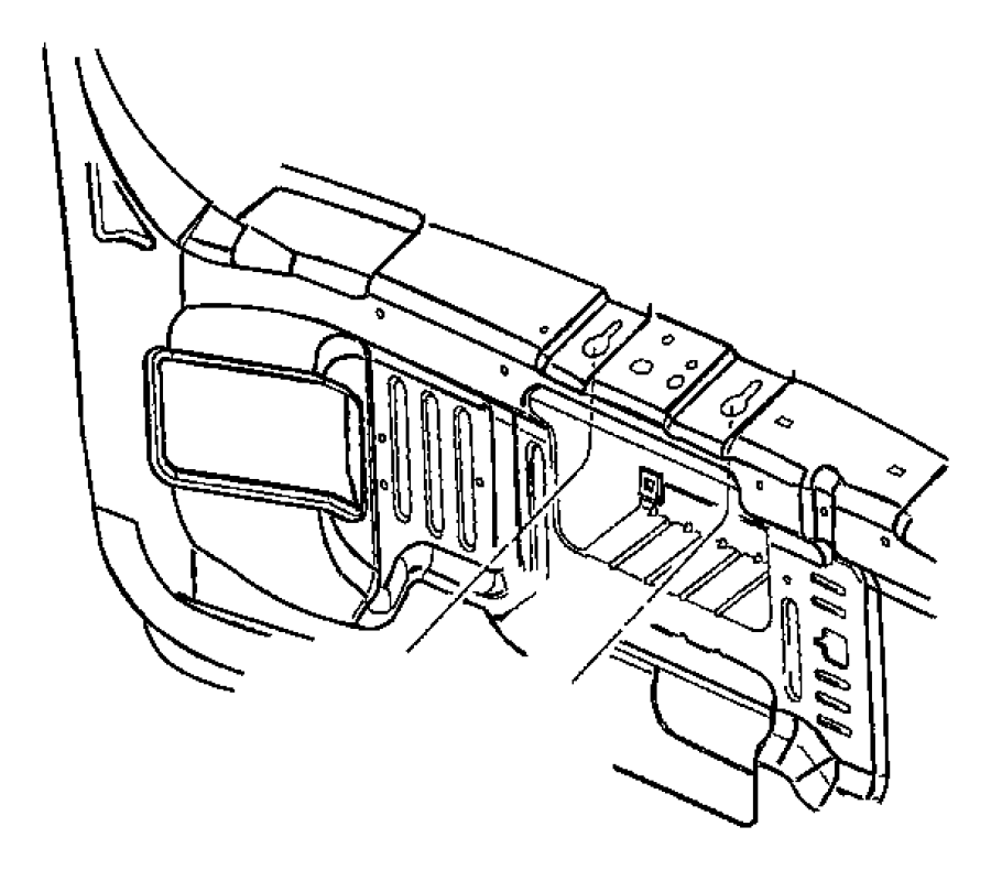 1999 Jeep Grand Cherokee Motor. Windshield wiper