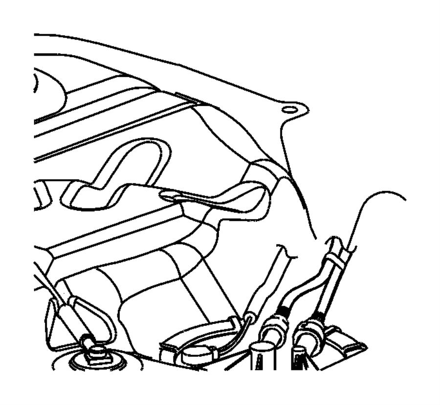 2004 Jeep Grand Cherokee Filter and regulator. Fuel