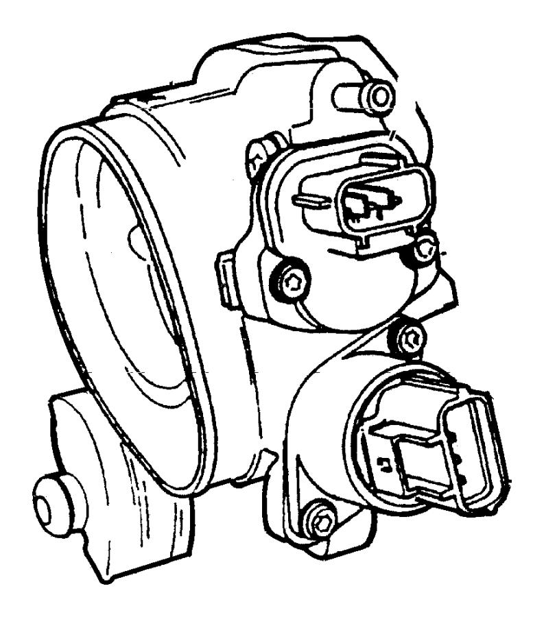 Jeep Patriot Sensor. Throttle position. Smpiengine
