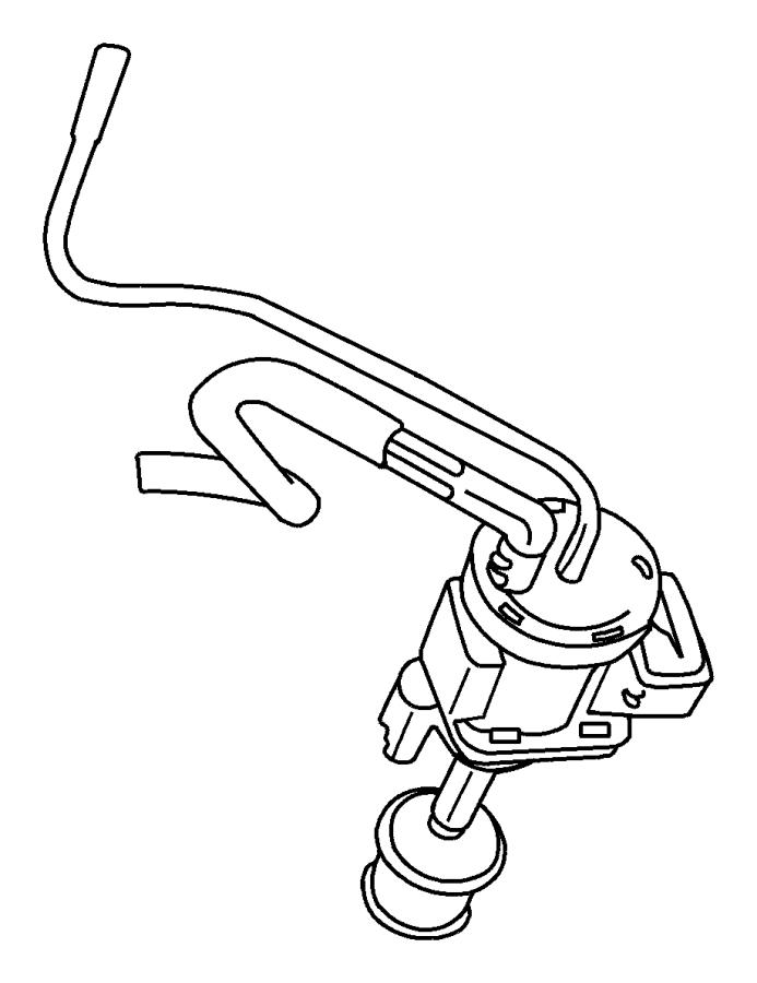 Chrysler Pt Cruiser Solenoid. Vacuum. Swirl, wastegate