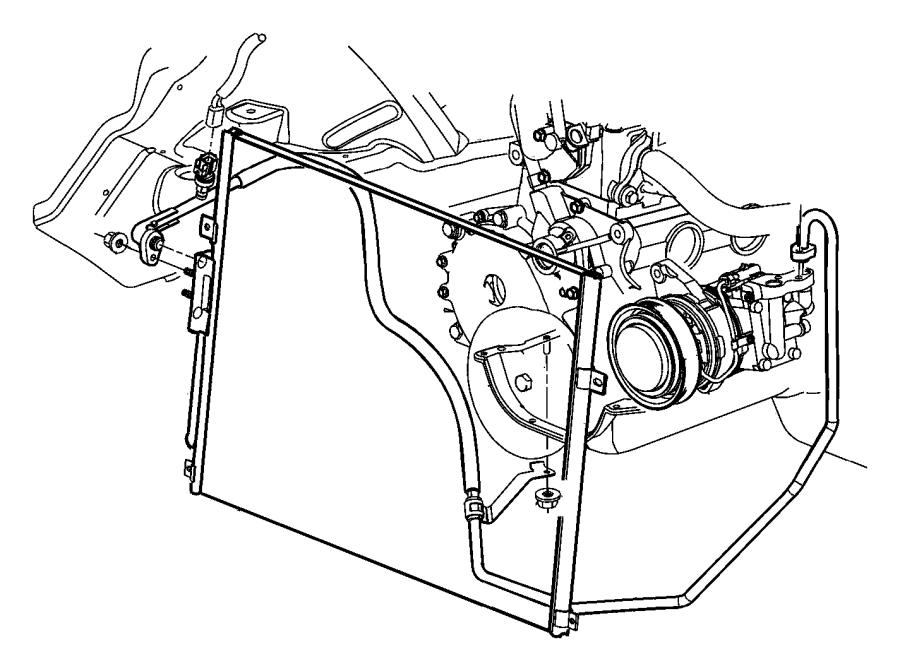 Accumulator Condenser And Lines 4 0l Engines