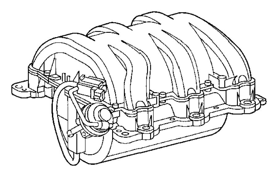 Intake Manifold 3 2l V6 Sohc 18 Valve Engine 3 2l