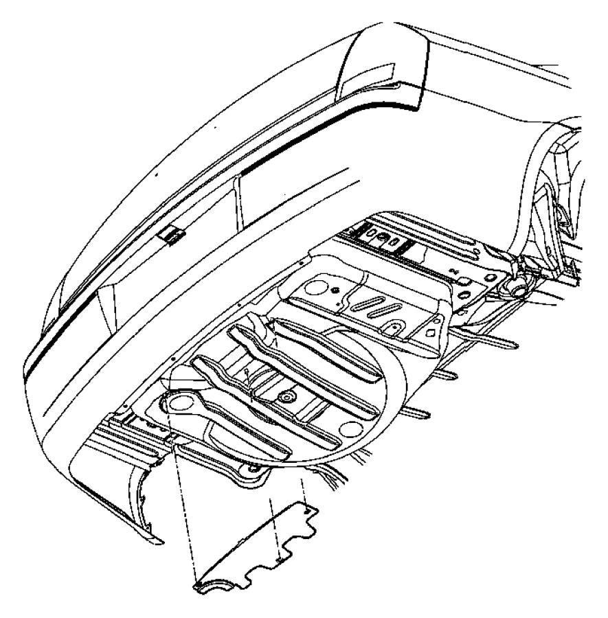 Chrysler 300 Underbody Shield.