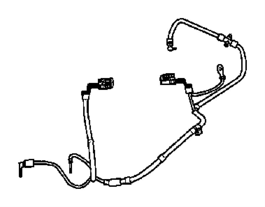 2004 Chrysler Pt Cruiser Wiring. Battery. After 03/31/03