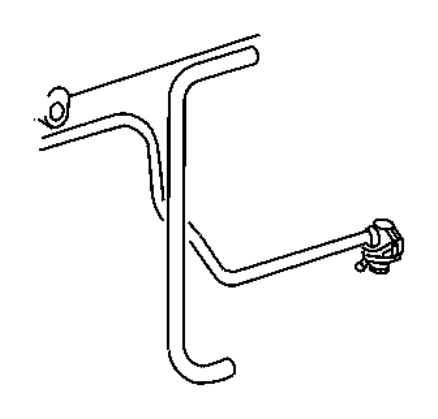 Dodge Sprinter 2500 Screw. Fuel filter screw, to fuel