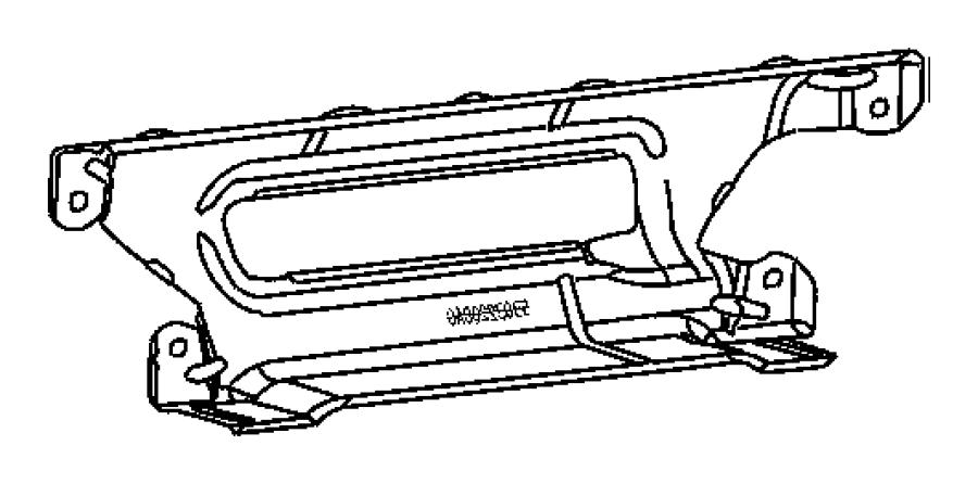 2004 Dodge Ram 1500 Shield. Exhaust manifold. Mounting