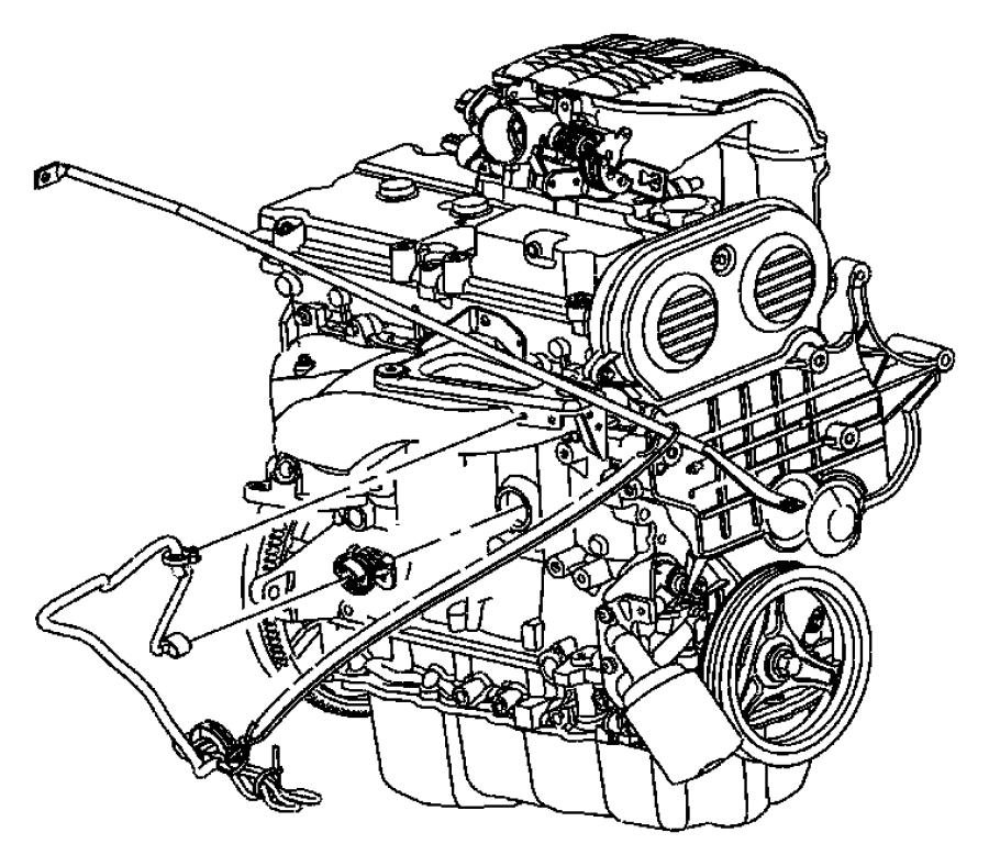 Chrysler Pt Cruiser Heater kit. Engine block. 2.4l engine