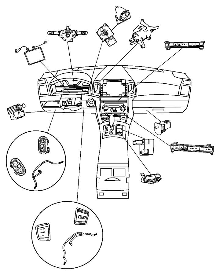 2006 Chrysler 300 Switch. Ignition. Trim: (*o0