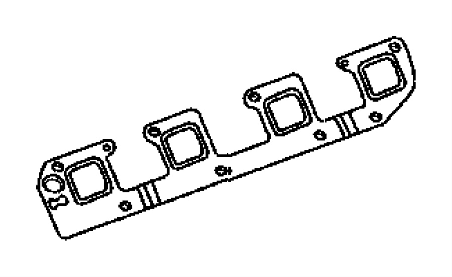 Exhaust Manifolds And Exhaust Manifold Heat Shields 5.7L