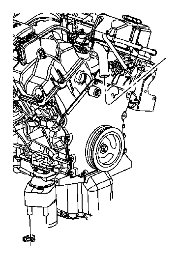 2007 Chrysler Pt Cruiser Sensor. Coolant temperature