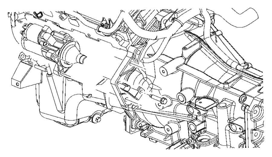 2010 Dodge Challenger Starter and Related Parts.