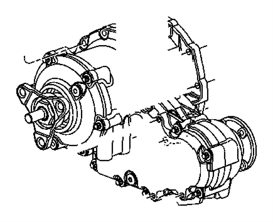 Chrysler 300 Flange package. After [10/19/05], up to [10