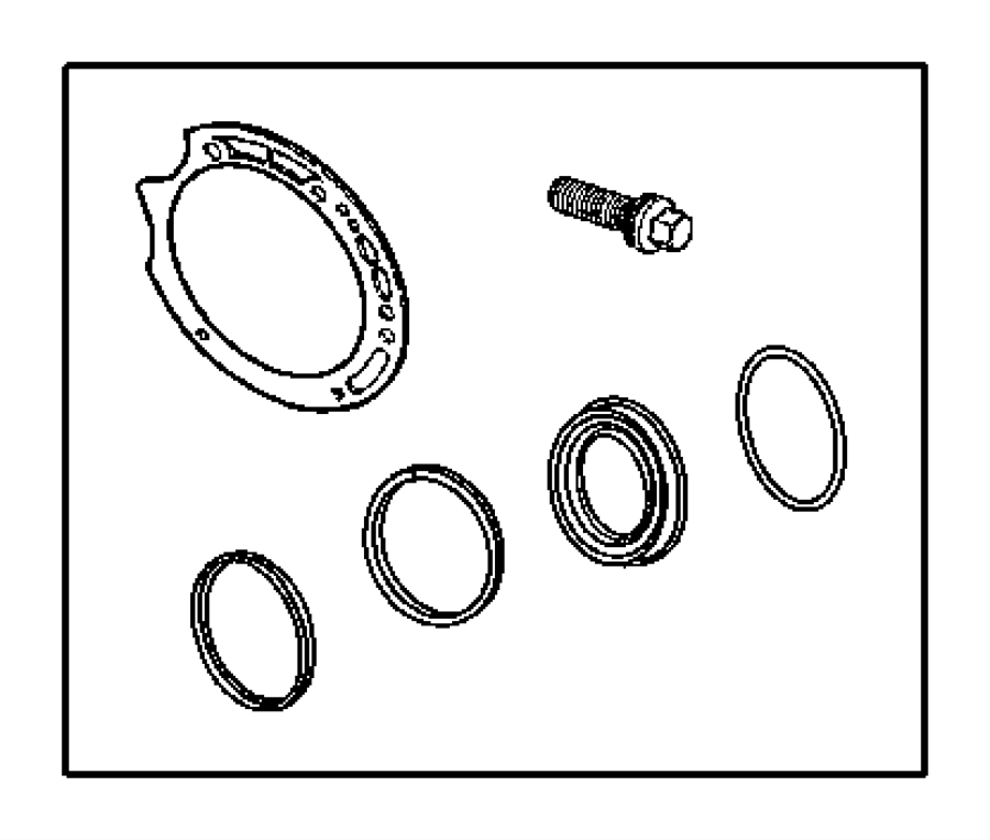 Dodge Dakota Used for: SEAL AND GASKET PACKAGE