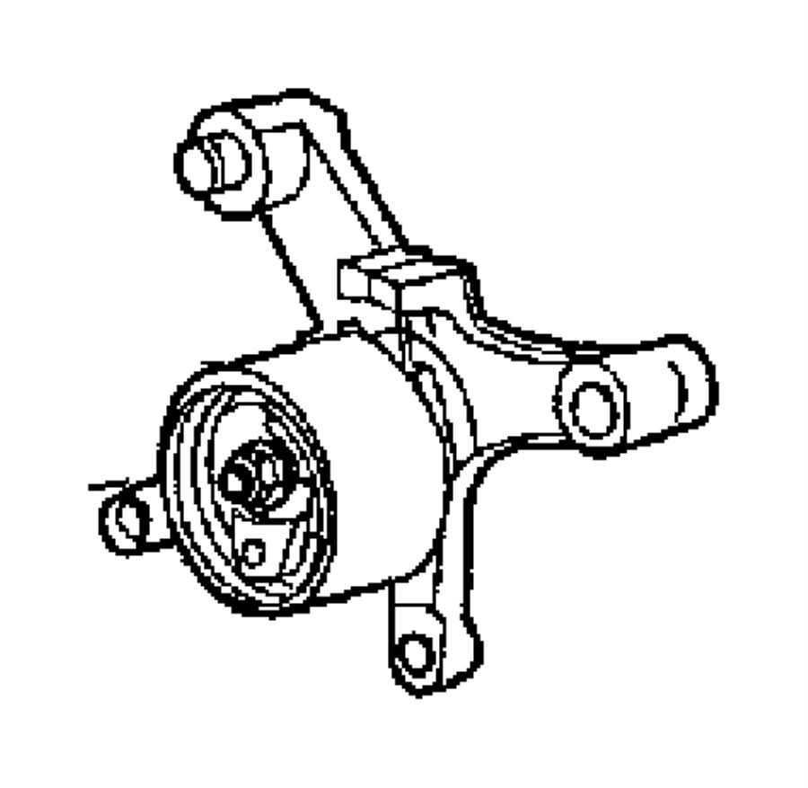 Dodge Neon Gear, sprocket. Timing belt. Crankshaft
