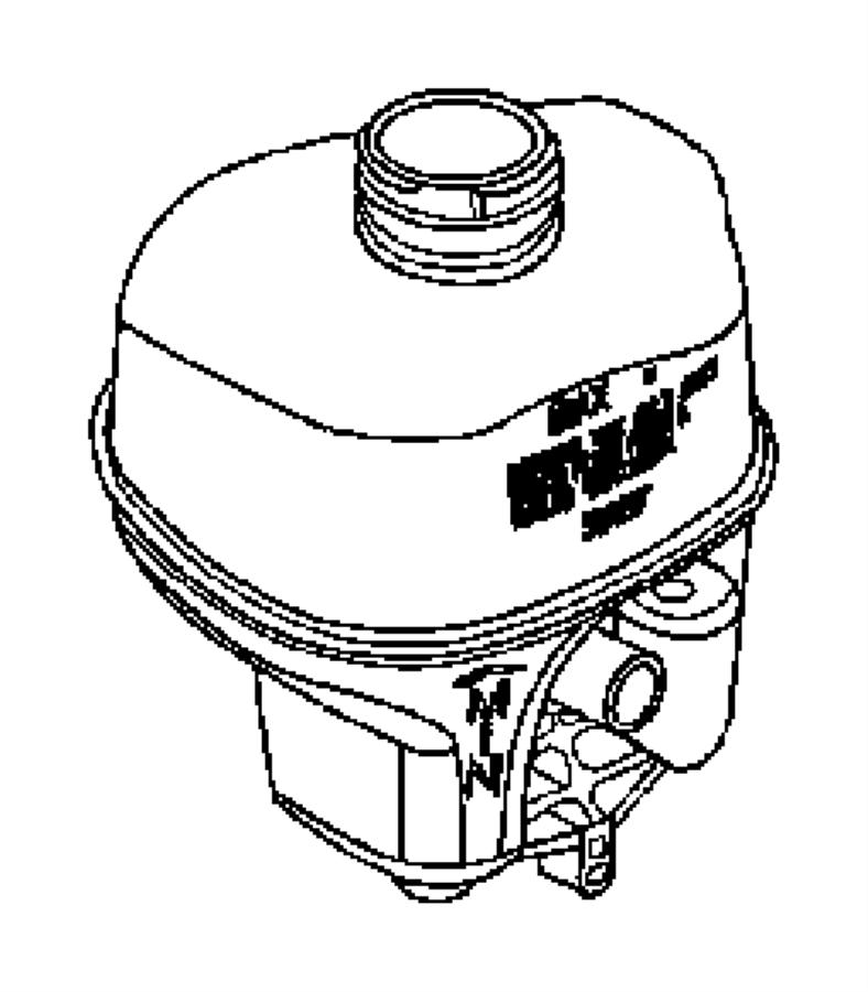2006 Dodge Ram 1500 Reservoir. Brake master cylinder