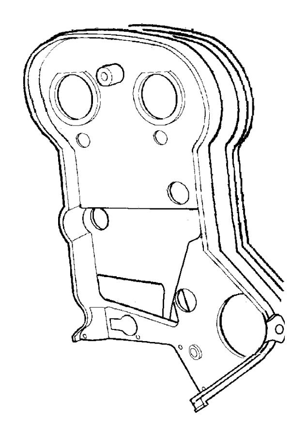 chrysler sebring timing belt cover