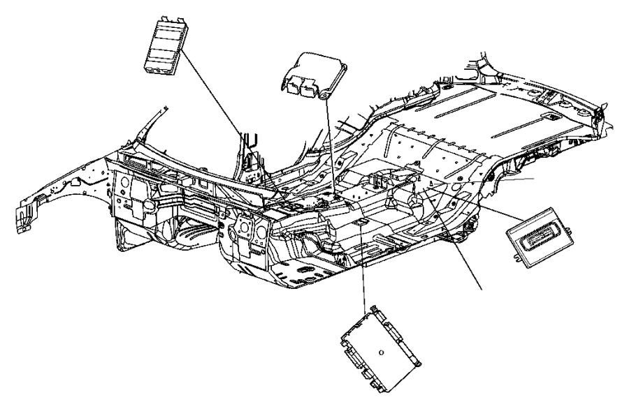Jeep Grand Cherokee Module. Transfer case control. Dhx