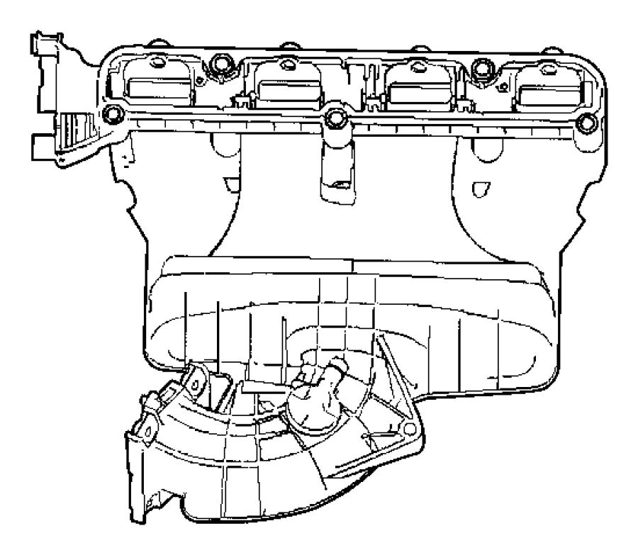 Intake Manifold 2.0L [2.0L 4 Cyl DOHC 16V Dual VVT Engine].