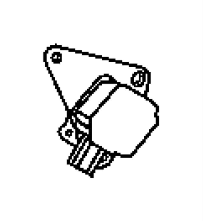 Dodge Caliber Actuator. Flow control valve. Ecq, ecp