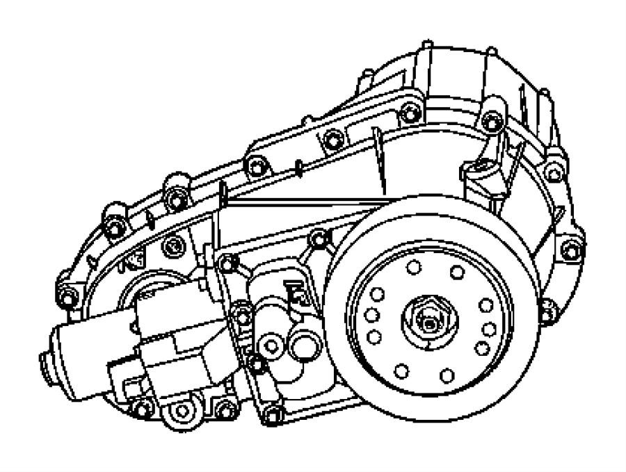 Jeep Grand Cherokee Actuator. Transfer case
