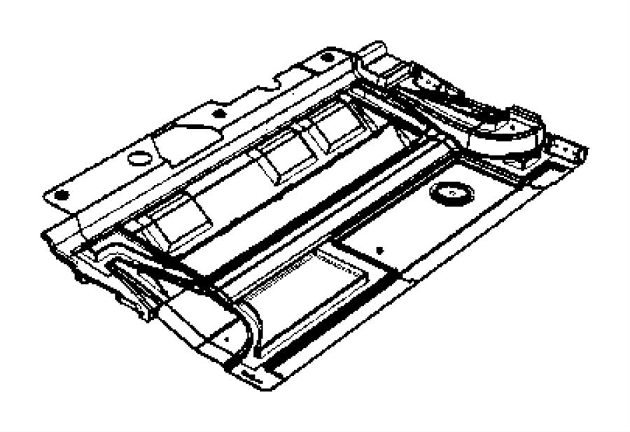 Dodge Avenger Damper. Front. Floor pan. [enc], [enj