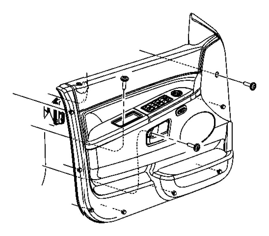 Jeep Commander Module. Door. Left. Trim: [all trim codes