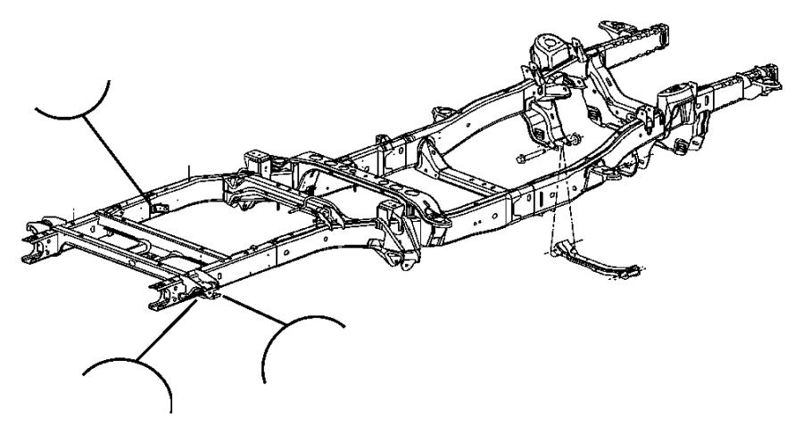 Dodge Ram Engine Mounting Left Side 4wd 5 7l 5 7l V8 Hemi Mds Vct Engine