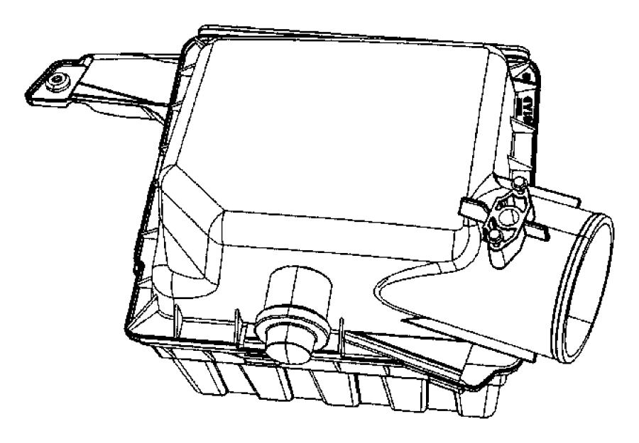 Dodge Ram 2500 Gauge, sensor. Air flow, air restriction