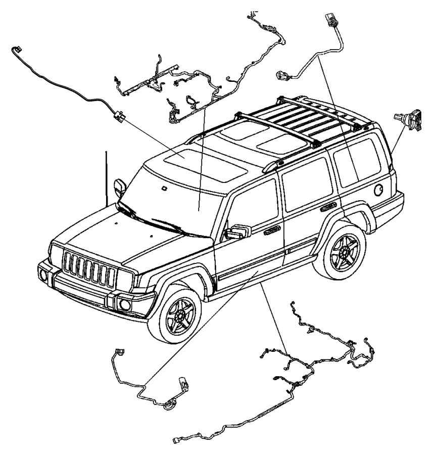 Jeep Grand Cherokee Wiring. Pretensioner, pretentioner