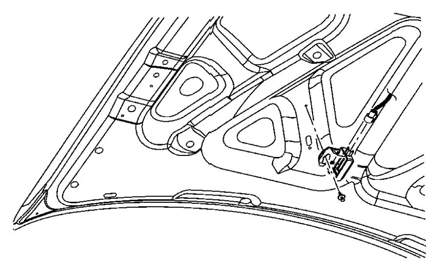 Dodge Journey Clip, pin. Pinch top, push, splash shield