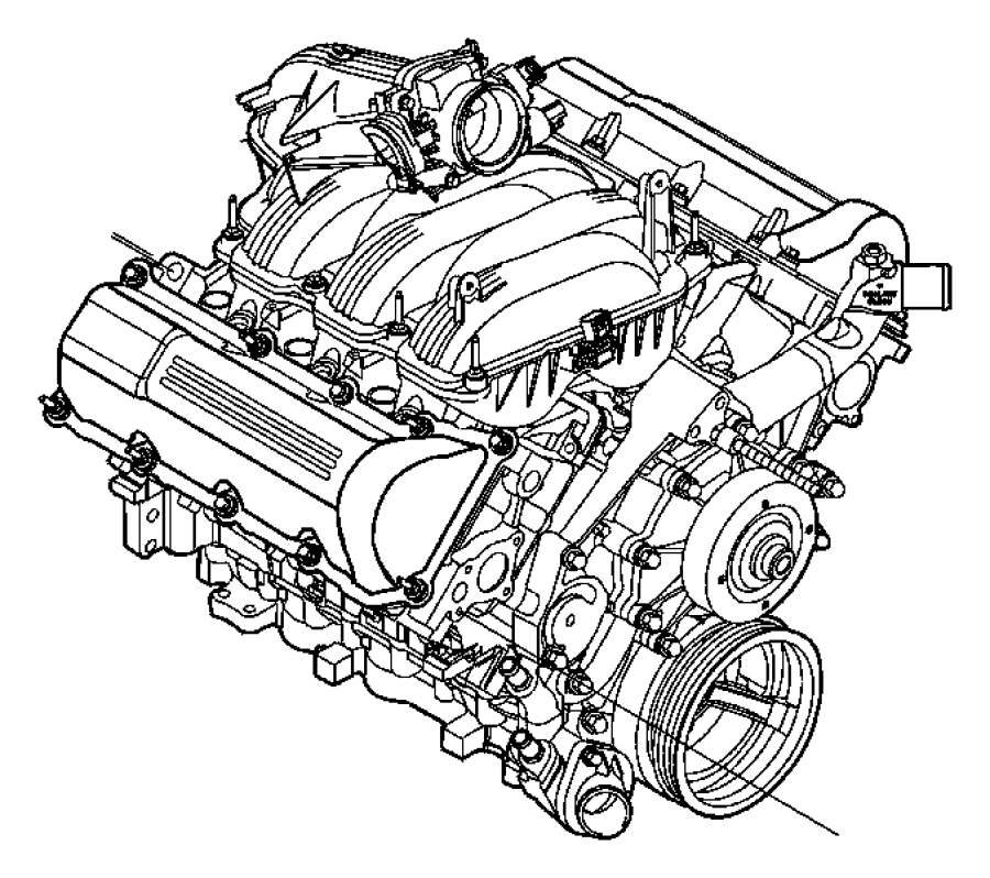 2012 Dodge Ram 1500 Valve. Crankcase vent, pcv. Suggested