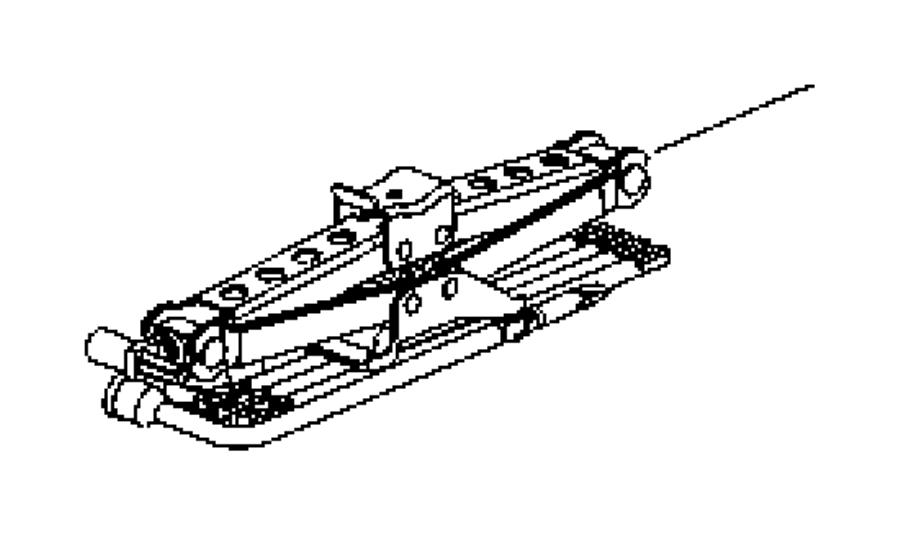 Dodge Dakota Tool kit. Jack. Includes: extension, wrench