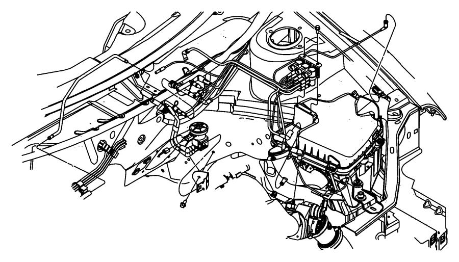 Chrysler Pt Cruiser Solenoid. Surge. Edzedv, edtedv