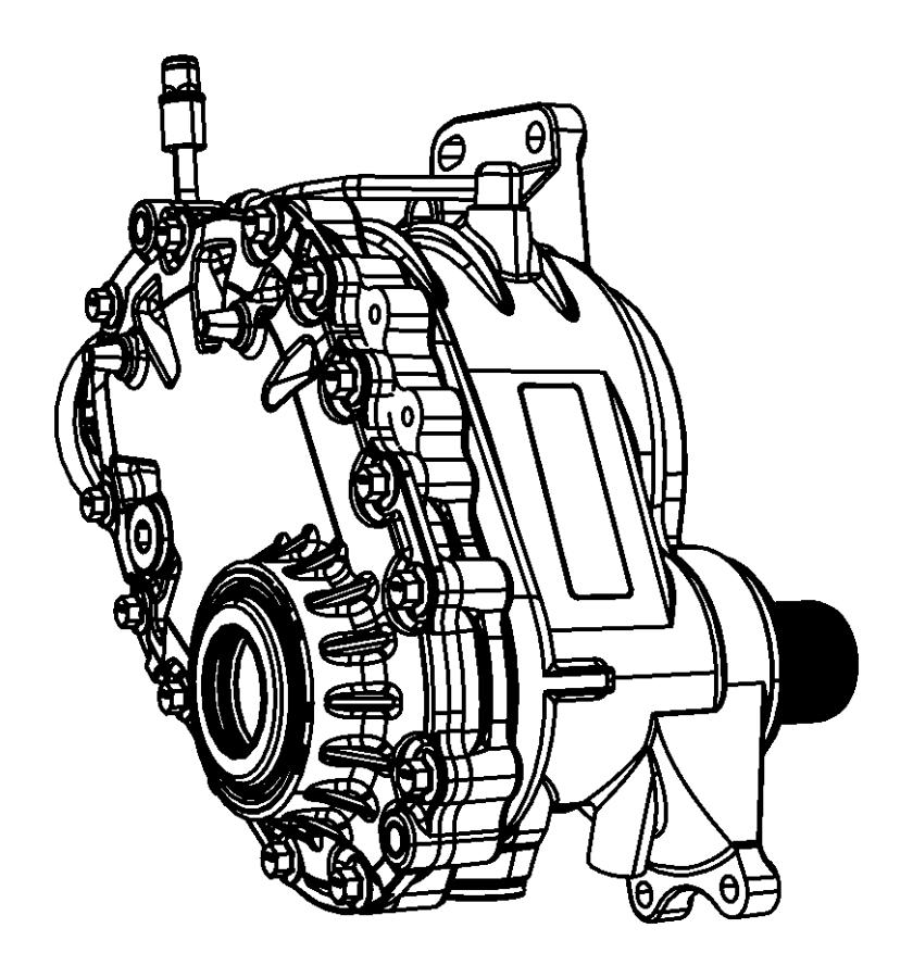 Chrysler Pacifica Power transfer unit, power transfer unit
